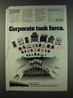 1979 Wang Word Processing Systems Ad - Task Force