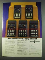 1979 Hewlett-Packard Calculator Ad - HP-33E HP-37E