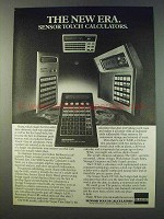 1979 Sharp Calculator Ad - EL-5808 EL-8145 CT-600