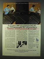 1979 TI Programmable 58C Calculator Ad