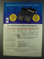 1979 TI Programmable 58C & 59 Calculators Ad