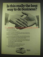 1979 Post Office Telecommunications Ad - Best Business