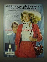1979 Woolite Cold Water Wash Ad - The Look You Love