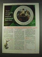 1979 Museum Collections Boehm Christmas Story Plate Ad