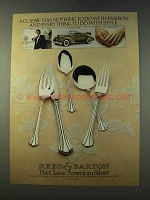 1979 Reed & Barton 18th Century Silver Ad - A Classic