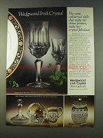 1979 Wedgwood Irish Crystal Ad - Old Galaway