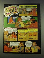 1979 Bounty Paper Towels Ad - Rosie's Diner