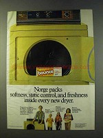 1979 Bounce Fabric Softener Ad - Norge Packs Softness