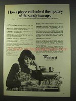 1979 Whirlpool Cool-Line Service and Dishwasher Ad