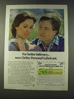 1979 Ortho Personal Lubricant Ad - For Better Intimacy