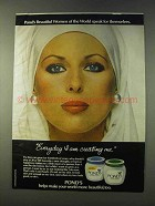1979 Pond's Cold Cream Ad - Everyday I'm Creating Me