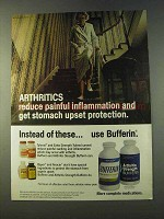 1979 Bufferin Medicine Ad - Arthritics Inflammation