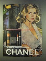 1979 Chanel Makeup Ad - Beauty Understated