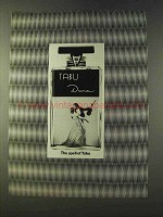 1979 Dana Tabu Perfume Ad - The Spell Of Tabu
