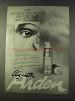 1979 Elizabeth Arden Visible Difference Eyecare Ad