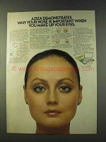 1979 Aziza Shadow Trios Ad - Your Nose is Important