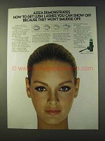 1979 Aziza Mascara with Sealer Ad - Lush Lashes