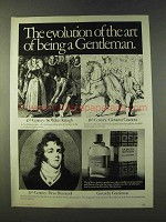 1979 Givenchy Gentleman Cologne Ad - Evolution of Art