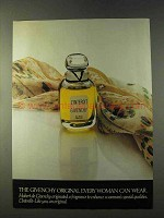 1979 Givenchy L'interdit Perfume Ad - Every Woman