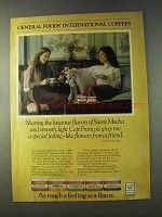 1979 General Foods International Coffee Ad, C. Lawrence