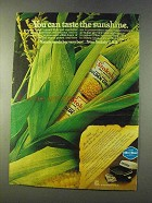 1979 Stokely Golden Corn Ad - Taste The Sunshine