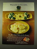 1979 Stouffer's Broccoli au Gratin & Potatoes Ad