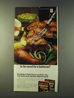 1979 Shake 'n Bake Barbecue Style Ad - In the Mood?