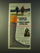 1979 Timely Products Lectra-Sox Ad - Warm Feet