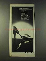 1979 Bally Marcella Shoe Ad - Collector's Items