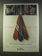 1979 Countess Mara Fashionberry Ties Ad - Elegance