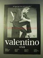 1979 Valentino Viva Jeans Ad - My Woman Can't Wear