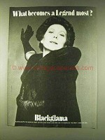 1979 Blackglama Fur Ad - Renata Scotto