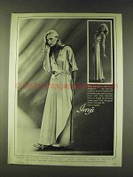 1979 Christian Dior Gown and Robe Ad - Ivey's