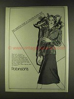 1979 Calvin Klein Suit Ad - Wool Jacket, Skirt & Blouse