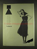 1979 Calvin Klein Georgette Dress Ad - Hudson's