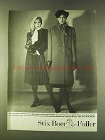 1979 Kasper for Joan Leslie Fashion Ad - Skirt, Coat