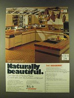 1979 Wilsonart Maple Countertop & Almond Cabinets Ad