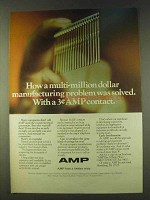 1979 AMP Action Pin Contact Ad - Problem Solved
