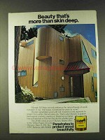 1979 Olympic Oil Stain Ad - More Than Skin Deep
