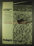 1979 Potlatch Corporation Ad - The Working Trees