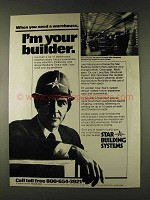 1979 Star Building Systems Ad - Need a Warehouse