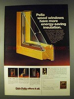 1979 Pella Windows Ad - More Energy-Saving Insulation