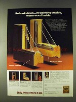 1979 Pella Windows Ad - No Painting Outside