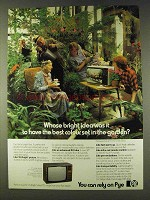 1979 Pye Television Ad - Whose Idea To Have in Garden