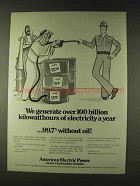 1979 American Electric Power Ad - We Generate