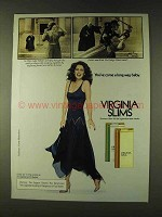 1979 Virginia Slims Cigarettes Ad - Justice Was Blind