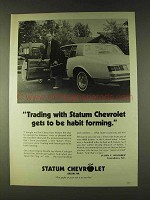 1979 Statum Chevrolet Ad - Gets to Be Habit Forming