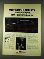 1979 Mitsubishi Motors Ad - Builds Fuel Economy