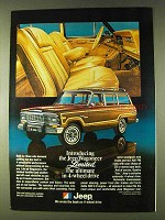 1979 Jeep Wagoneer Limited Ad - The Ultimate