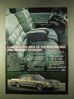 1980 Mercury Marquis Ad - Come Feel The Ride